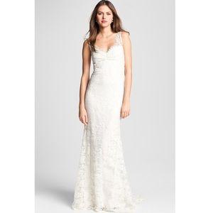 Nicole Miller Brooke Lace Bridal Wedding Dress